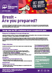 Brexit: Are You Prepared?